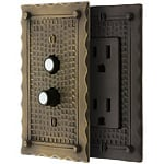 Bungalow Switch Plates