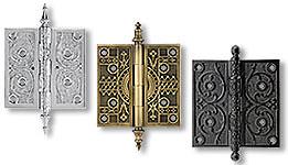 standard door hinges decorative butt hinges - Decorative Hinges