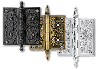 Standard Door Hinges · Decorative Butt Hinges