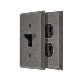 Industrial Style Switch Plates
