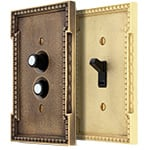 Neoclassical Switch Plate Covers
