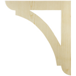 Wood Shelf Brackets