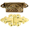 victorian cabinet furniture hardware
