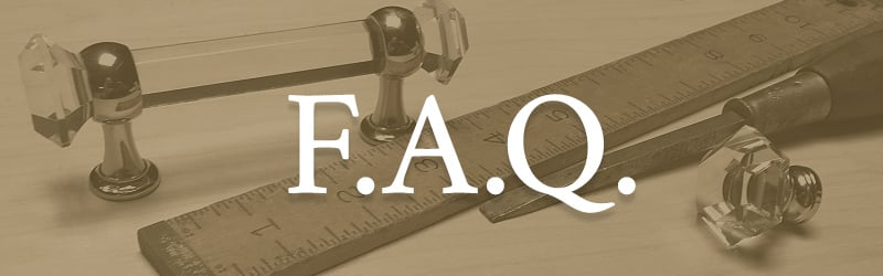 House of Antique Hardware Frequently Asked Questions Page