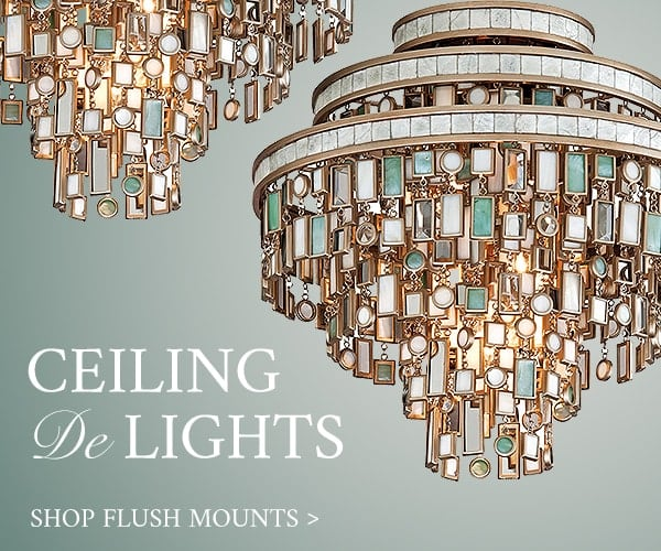 Ceiling De-Lights: Shop Flush Mounts
