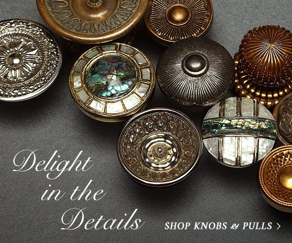 Shop cabinet knobs
