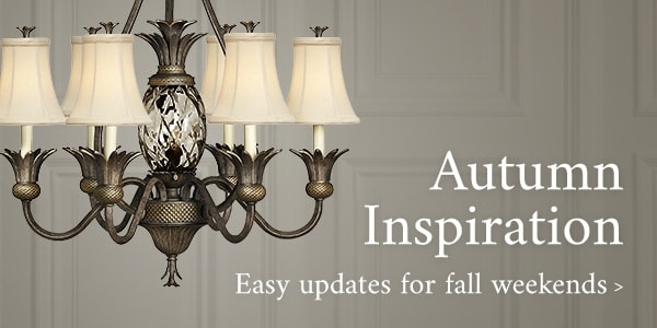 Autumn Inspiration - easy updates for fall weekends
