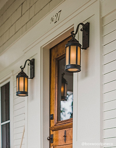 Anderson Forge exterior wall sconce