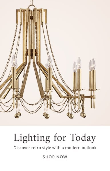 Lighting Today: discover retro style with a modern outlook - shop now.