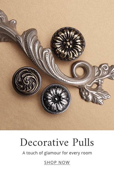 Decorative Pulls: A touch of elegance for every room - shop now.