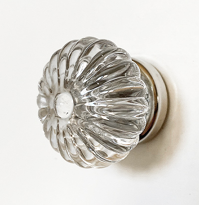 Pressed Glass Cabinet Knobs