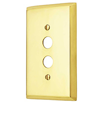 Push Button Switch Plate