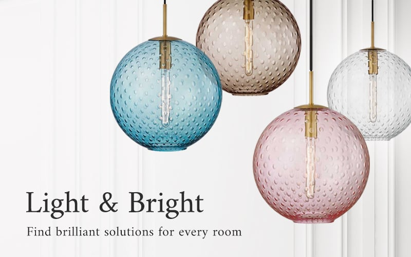 Light and bright - find brilliant solutions for every room