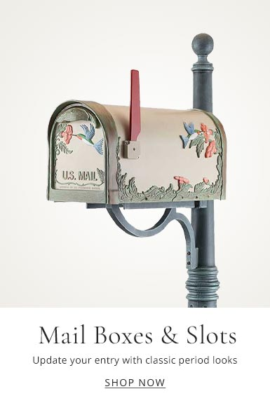 ANTIQUE MAILBOXES & MAIL SLOTS.