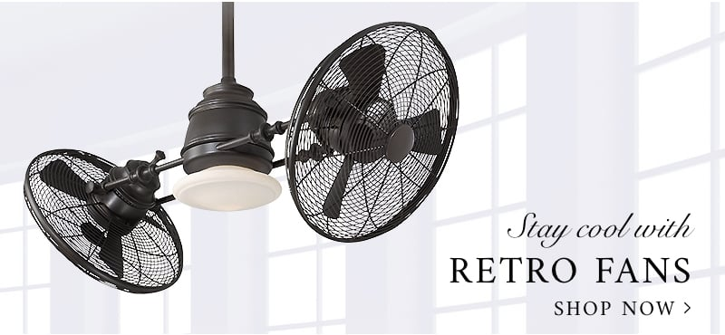 Stay cool with retro fans