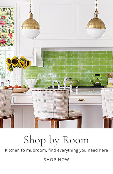 Kitchen to mudroom, find everything here for your next room makeover.