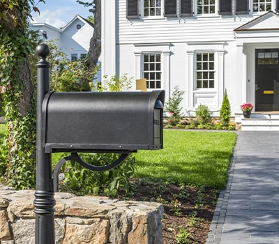 Mailboxes and mail slots - understanding your options.