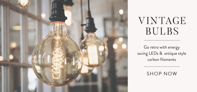 Vintage Bulbs - Shop Now