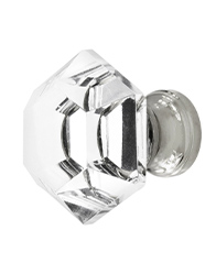 Hexagonal Crystal Knob