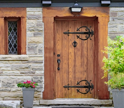 add-old-world-style-with-rustic-strap-hinges.