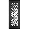 Cast Iron Victorian Style Floor Grate For Return Air Intake or Heat Vents