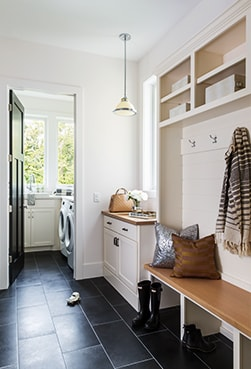 Home improvement ideas for the mudroom